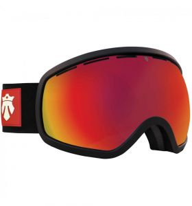 Gogle MAJESTY One 11 Black Matt/ Red Ruby