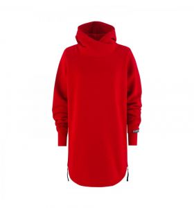 Bluza MAJESTY Velvet Lady Hoodie Red