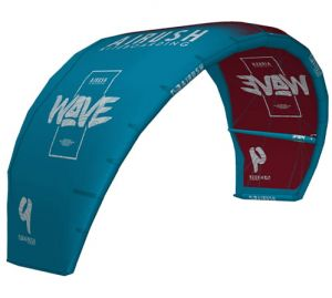 Latawiec AIRUSH Wave V9 Red & Teal 2020