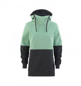 Bluza MAJESTY Flipside Lady Hoodie Mint/ Graphite