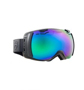Gogle MAJESTY Spectrum Black Frame/Green Emerald Mirror