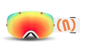 Gogle NEON Break White/Orange BKWO M2