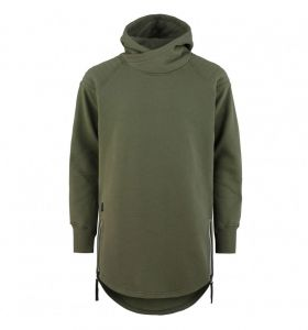 Bluza MAJESTY Wolfshood Tall Hoodie Army Green