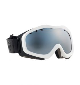 Gogle MAJESTY Patrol White Frame/Black Onyx Mirror