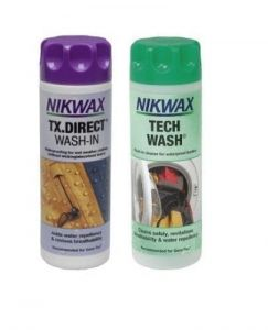 Zestaw pielęgnacyjny NIKWAX Twin Tech Wash Impregnat/TX Direct Wash In 2x300ml