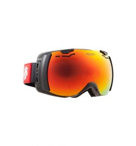 Gogle MAJESTY Spectrum Black Frame/Red Ruby Mirror Lens Tint