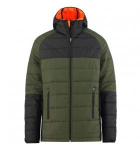 Kurtka MAJESTY dociepleniowa Asgaard  2.0 Army Green/Orange