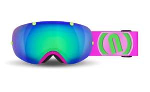 Gogle NEON Wire Plus Pink Fluo WRPF M5